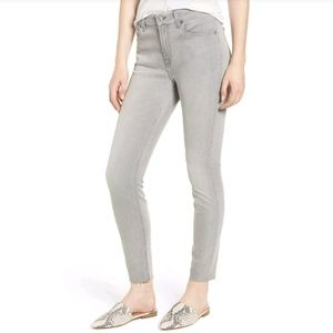 7 for all mankind | Grey b (air) Skinny Jeans 27